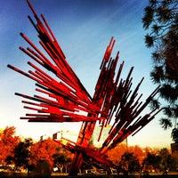 Photo taken at Parque de las Esculturas by Sebastian P. on 6/21/2012