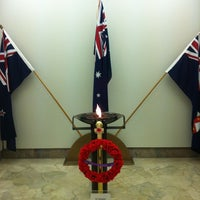 Photo taken at ANZAC War Memorial by Spatial Media on 11/24/2011