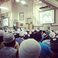 Photo taken at Masjid Al-Ridhuan by Norhalil H. on 8/12/2012