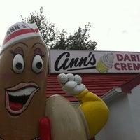 Photo taken at Ann's Dari-Creme by Roofdog on 11/13/2011