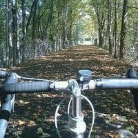 Photo taken at Greenway Bike Trail by Joe A. on 9/25/2011