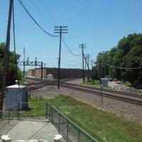 Photo taken at Rochelle Railroad Park by Eileen B. on 7/4/2011