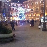 Photo taken at Piazza dei Signori by Luca L. on 12/15/2011