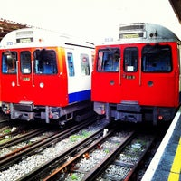 Photo taken at Hammersmith London Underground Station (Circle and H&C lines) by Ming Y. on 3/30/2012