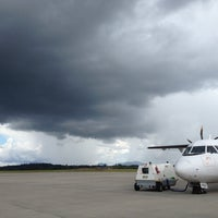 Photo taken at Bintulu Airport (BTU) by Yien C. on 4/12/2012