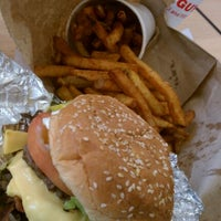 Photo taken at Five Guys by Oscar G. on 1/11/2012