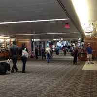 Photo taken at Gate A3 by Judy B. on 5/27/2012