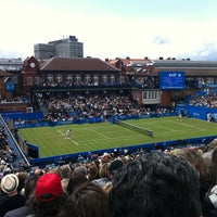 Photo taken at Queen's Club by simon g. on 6/8/2011