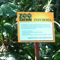 Photo taken at Zoo Safari by Claudia B. on 7/9/2012