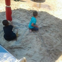 Photo taken at Woodland Discovery Playground @ Shelby Farms by Shatara M. on 5/25/2012