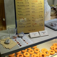 Photo taken at hara donuts by Stella K. on 4/1/2012
