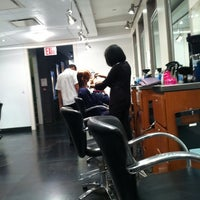Photo taken at Mark Garrison Salon by Peter D. on 3/17/2012