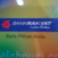 Photo taken at Bank Rakyat by Rofiel Y. on 6/13/2012