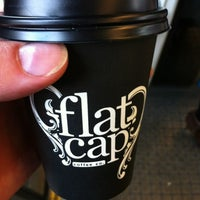 Photo taken at Flat Cap Coffee Co. by Mark J. on 3/31/2012