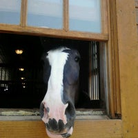 Photo taken at Express Clydesdales Ranch by Christy O. on 6/10/2012