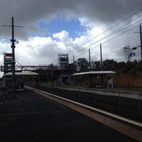 Photo taken at Swanson Train Station by Darren D. on 3/2/2012