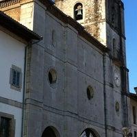 Photo taken at Colegiata de Pravia by Hugo V. on 2/24/2012