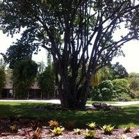 Photo taken at Miami Beach Botanical Garden by Monica W. on 8/15/2012