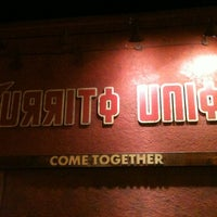 Photo taken at Burrito Union by Danielle L. on 8/12/2012