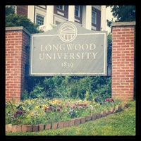 Photo taken at Longwood University by Ellen K. on 5/5/2012