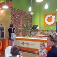 Photo taken at Orange Leaf by Justin S. on 7/6/2012