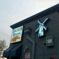 Photo taken at Dutch Bros. Coffee by David J. F. on 4/12/2012