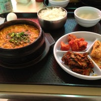 Photo taken at BCD Tofu House by Mandolyn M. on 4/3/2012
