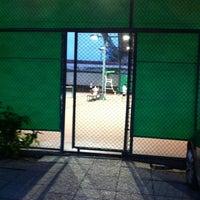 Photo taken at Văn Thánh Tennis Court by Tuanvu on 7/30/2012
