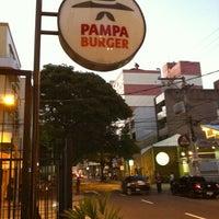 Photo taken at Pampa Burger by Pedro P. on 3/1/2012