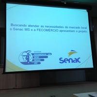 Photo taken at Senac by Saulo A. on 8/14/2012