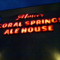 Photo taken at Miller's Coral Springs Ale House by Eddie V. on 9/5/2012