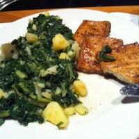 Photo taken at Fork Vegetarian buffet by Maja B. on 12/9/2011