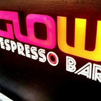 Photo taken at Glow Espresso by Rae A. on 3/15/2012