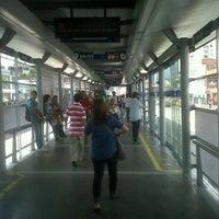 Photo taken at MIO Estacion Manzana del Saber by Adolfo A. on 1/26/2012