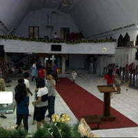 Photo taken at GPdI Nazareth Pattynama by Christin T. on 4/20/2012