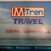 Photo taken at mTren travel by ei8ht C. on 10/20/2011