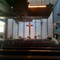 Photo taken at Gereja Katolik Regina Caeli by Johannes R. on 6/12/2012