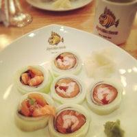 Photo taken at Monster Sushi by lanamaniac on 4/29/2012