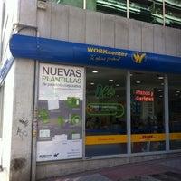 Photo taken at Workcenter | Tienda de Castellana, Madrid by Manuel S. on 2/4/2011