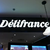 Photo taken at Delifrance by Diyanah H. on 2/3/2011