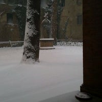 Photo taken at Biblioteca Comunale Manfrediana di Faenza by Gabriele B. on 2/1/2012