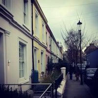 Photo taken at Portobello Road by Rafa A. on 1/29/2012