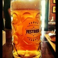 Photo taken at Gordon Biersch Brewery Restaurant by Kristi R. on 9/16/2011