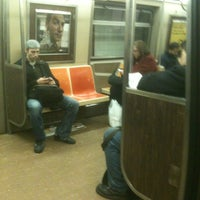 Photo taken at MTA Subway - F Train by Daisy on 12/2/2011