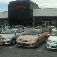 Photo taken at Fitzgerald Toyota Gaithersburg by Chuck T. on 3/18/2011