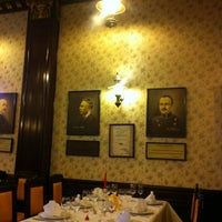 Photo taken at Restaurant Vatra Neamului by Andrey P. on 2/14/2012