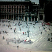 Photo taken at Piazza Milano by Jlenia G. on 12/13/2011