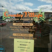 Photo taken at Country Village Nutrition Shoppe & Cafe by Paul O. on 8/30/2011
