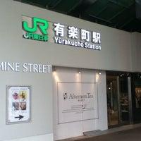 Photo taken at Yurakucho Station by ニシユ ヤ. on 4/30/2012