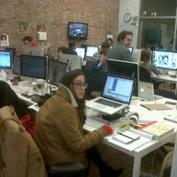 Photo taken at BuzzFeed Loft by WebAnna G. on 12/12/2011